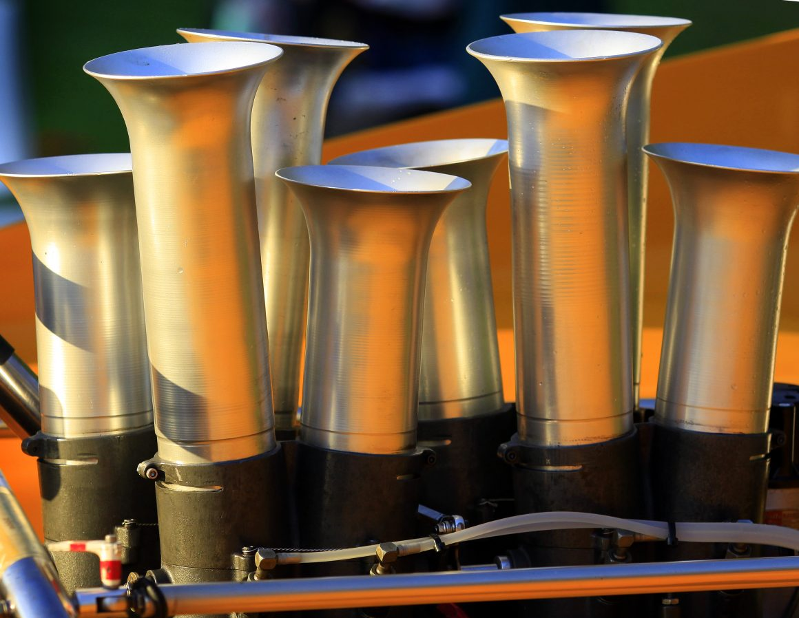 Fuel injector stacks