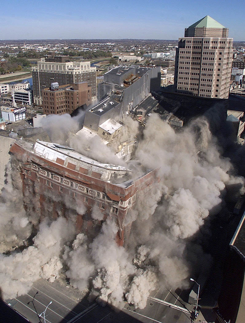 Lazarus building is imploded