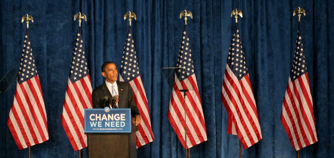 Barack Obama in Dayton, Ohio