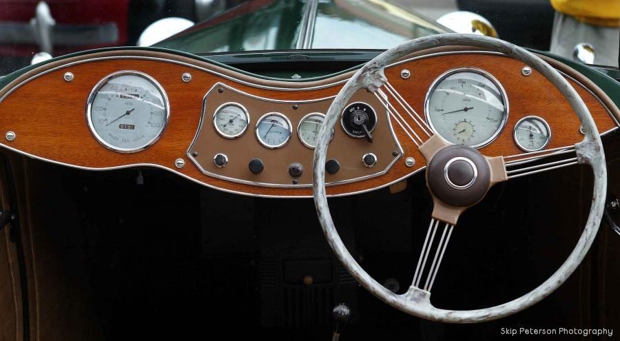 1950 MG YT Dash