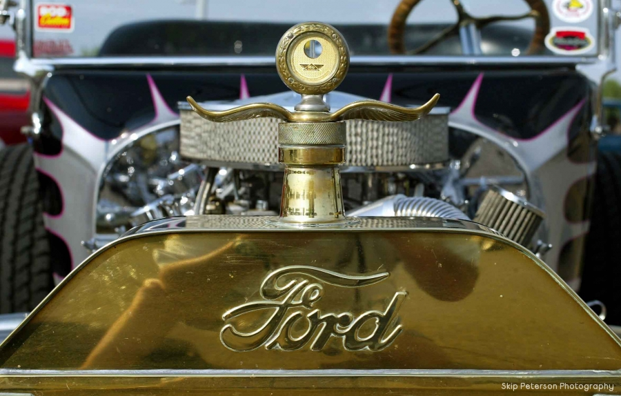 23 Ford T Bucket Grille