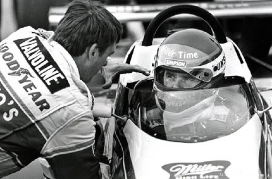Johnny Rutherford & Al Unser