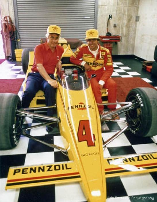 Roger Penske & Rick Mears