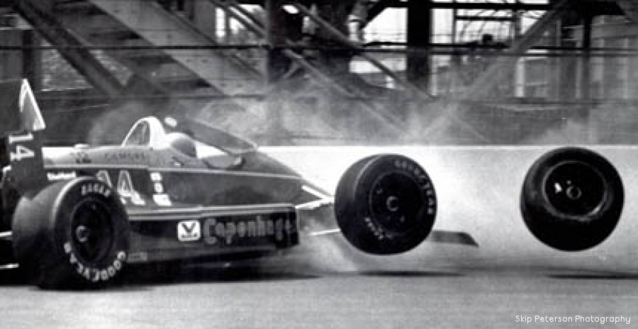 Foyt in the Wall