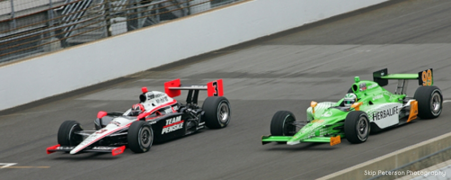 Helio Castroneves & Townsend Bell